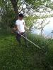Košnja trave v revirju Krog in čistilna akcija - 17.5.2017